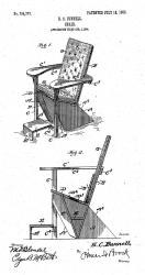 The first Adirondack chair was designed by Thomas Lee while vacationing in Westport, New York, in the Adirondack Mountains in 1903. 